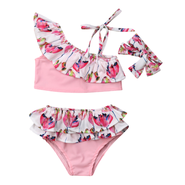 Elena's Bikini Set - Rowley's Baby Boutique  - Express U.S. Delivery