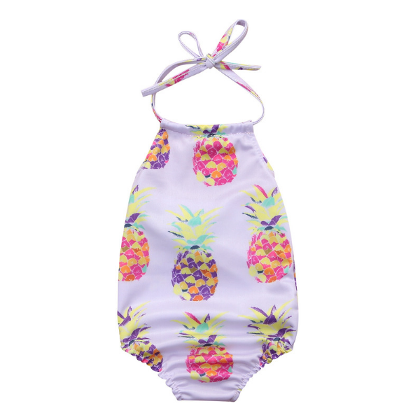 Eva's Pineapple Swimsuit - Rowley's Baby Boutique  - Express U.S. Delivery