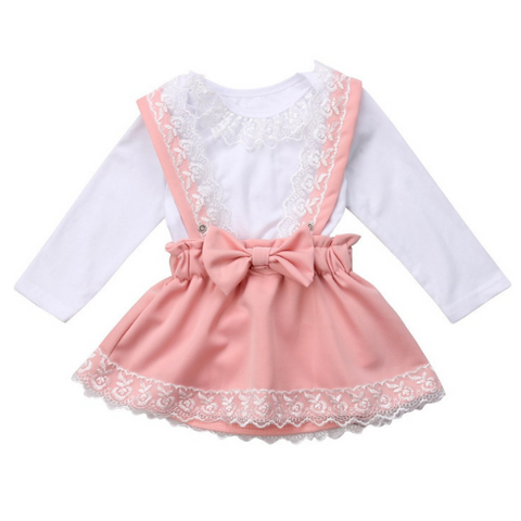 Kylie's Lace Dress - Rowley's Baby Boutique  - Express U.S. Delivery