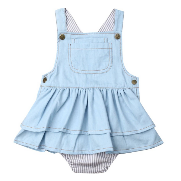 Denim Tutu Dress