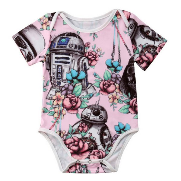 Star Wars Floral Bodysuit