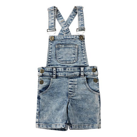 Denim Overall Jeans - Rowley's Shop - 4 Days U.S. Delivery