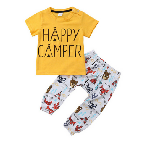 Camper Animals Outfit - Rowley's Baby Boutique  - Express U.S. Delivery