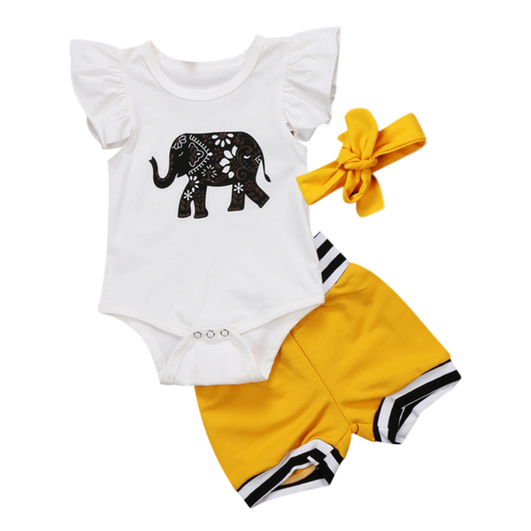 Riley's Elephant Outfit