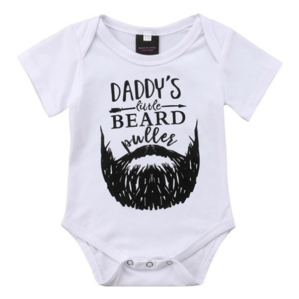 Daddy's Beard - Rowley's Baby Boutique  - Express U.S. Delivery