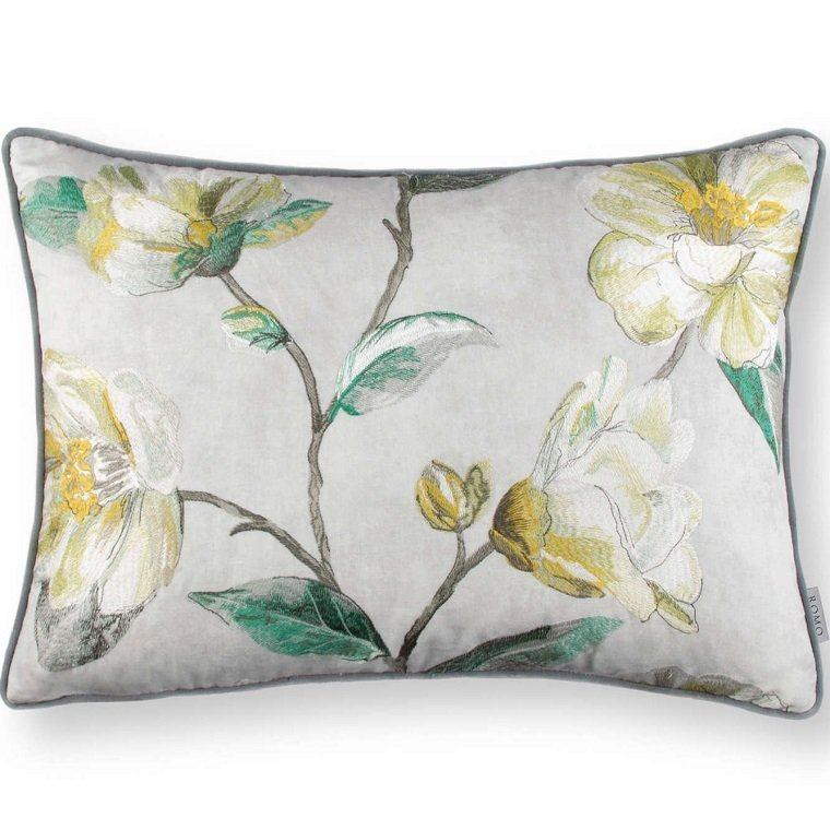 Almofada - Japonica Embroidery Cushion Cypress -RC701-02