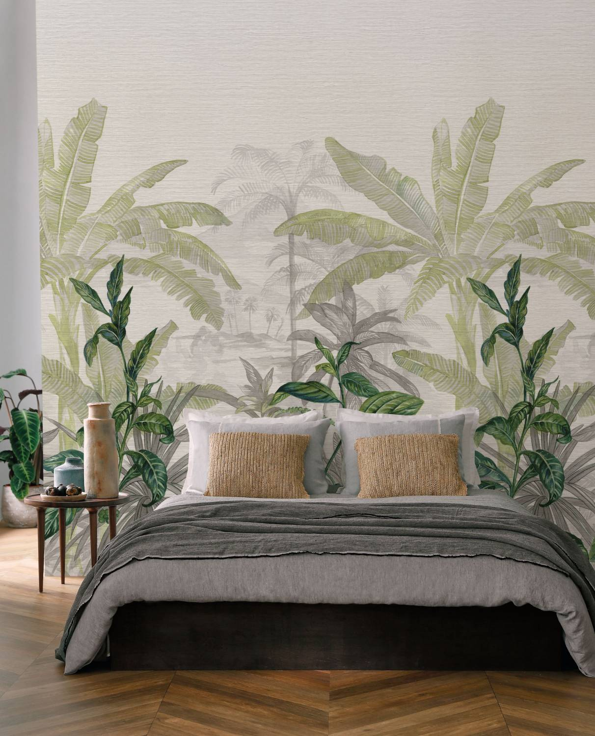 Mural/Painel Tropical Manille -Olea