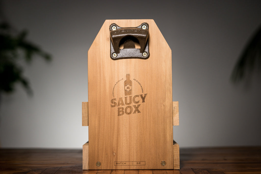 Saucy Box Condiments Box Kauri