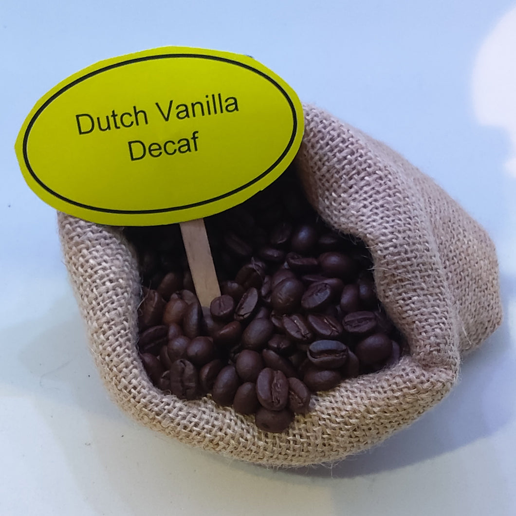 Dutch Vanilla Decaf Coffee Beans