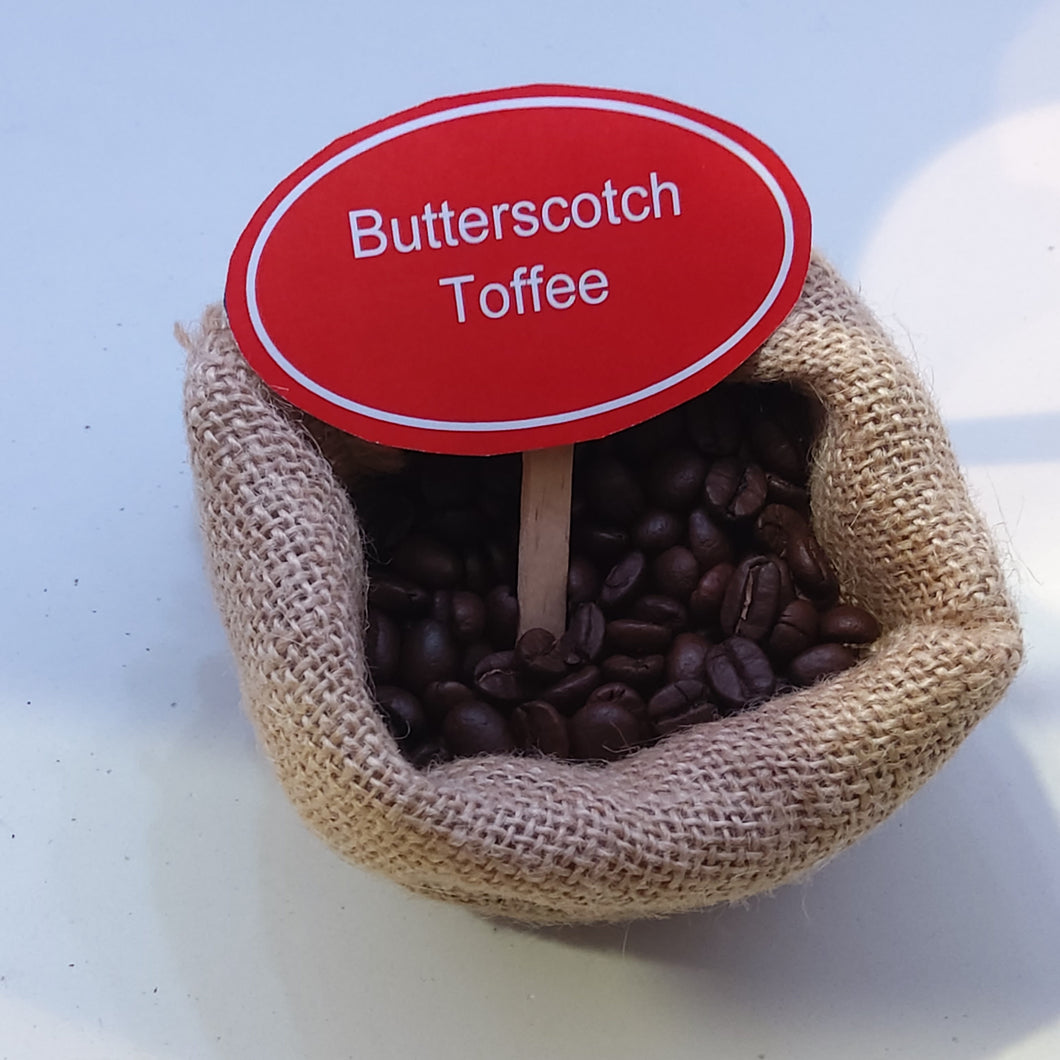 Butterscotch Toffee Coffee Beans