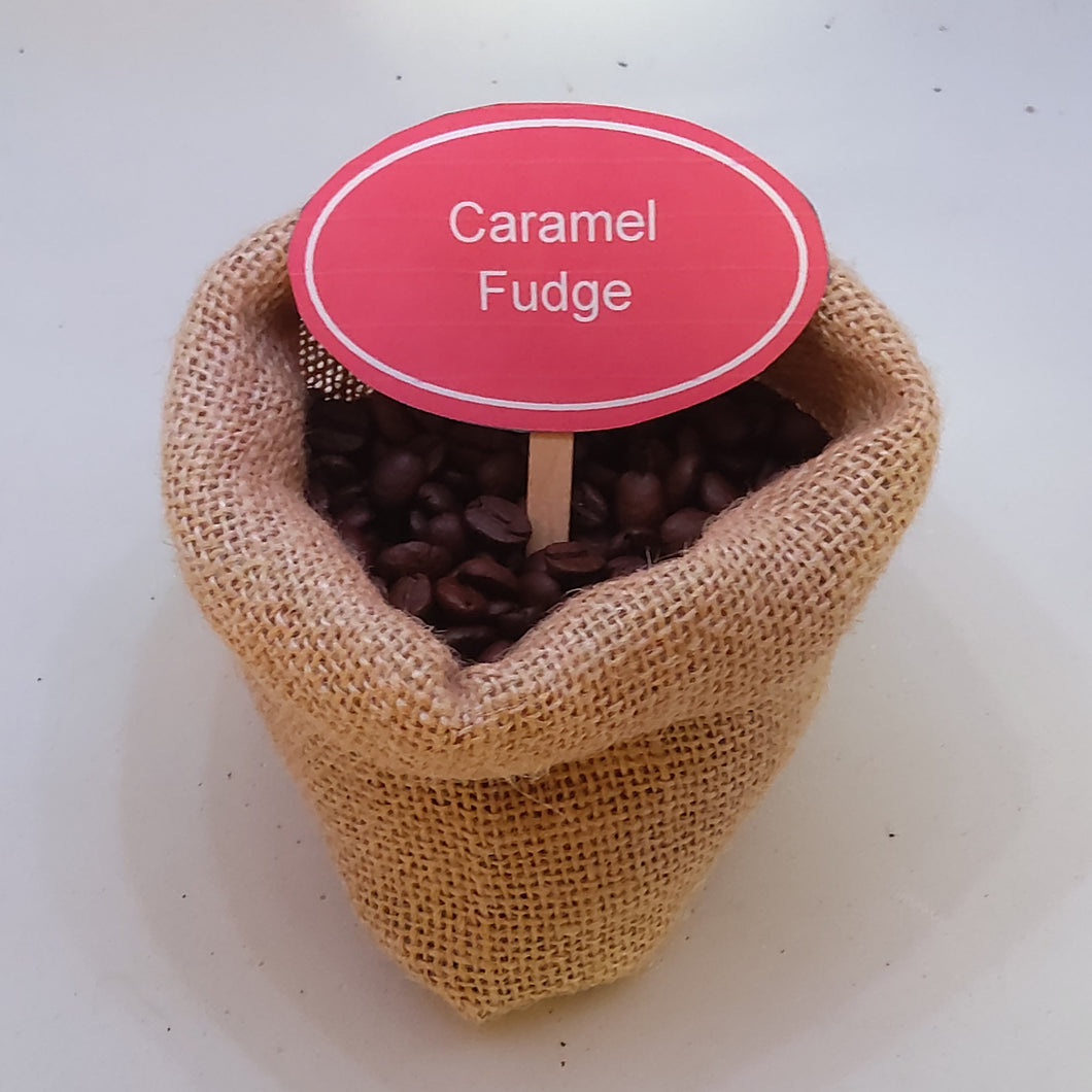 Caramel Fudge Coffee Beans