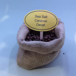 Sea Salt Caramel Decaf Coffee Beans