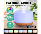 DEVANTI Diffuser LED Night Light Humidifier 500ml