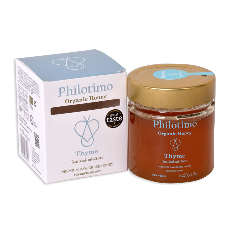 Philotimo Organic honey with Thyme