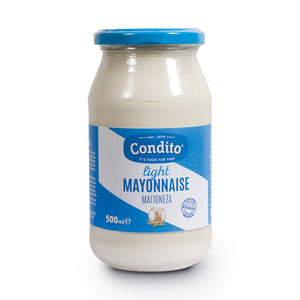 Condito Mayonnaise Light Glass Jar