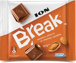 ION Break Milk Chocolate with Whole Almonds
