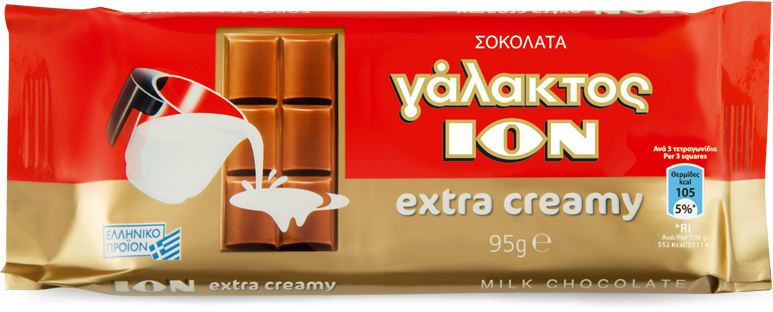 ION Milk Chocolate Extra Creamy