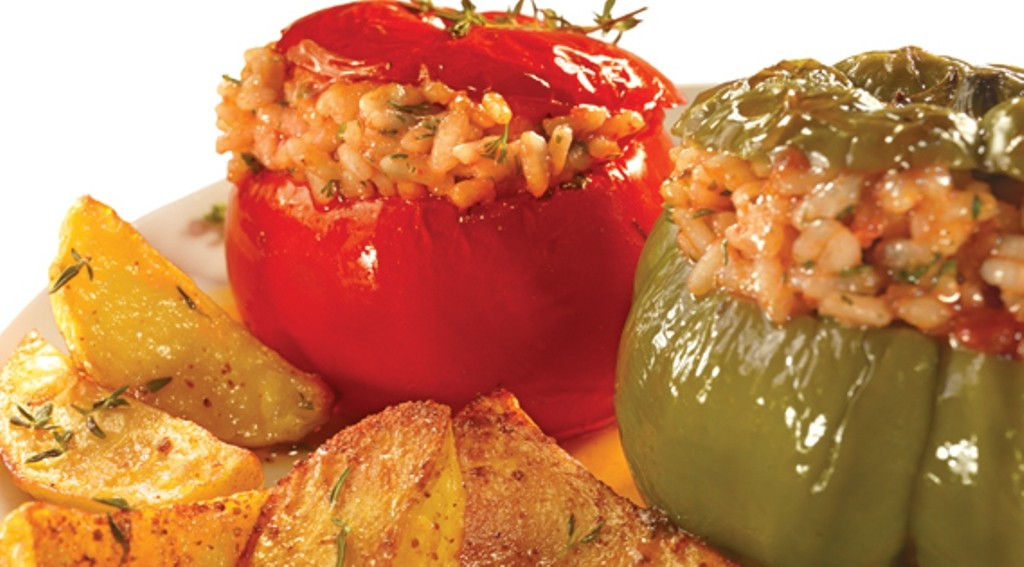 Stuffed Peppers & Tomatoes Frozen / Gemista