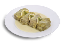 Stuffed Cabbage Rolls / Lachanodolmades Frozen