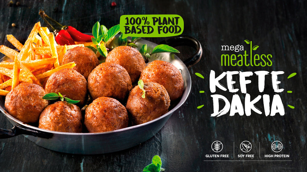 Vegan Meatless keftedakia