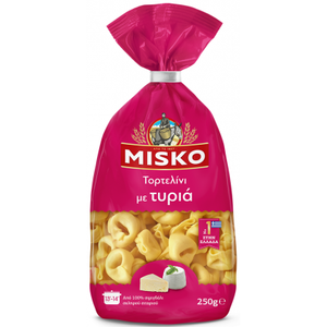 Misko Tortelini with Cheese