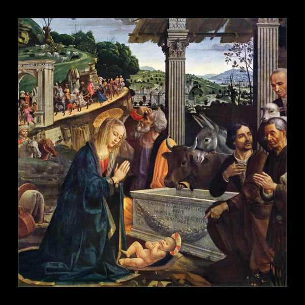 "Adoration of the Shepherds<p style=""color_gold"">LUXURY RANGE"