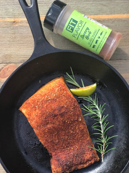Savory Herb Salmon by Fit Flavor