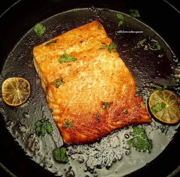 HONEY & SAVORY HERB SALMON