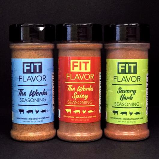 Fit Flavor 3 pack combo