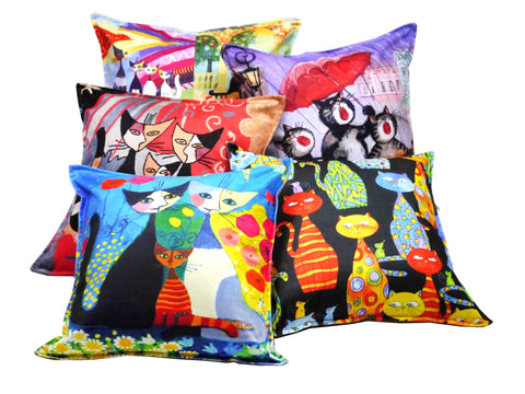 Cat Cushion Covers