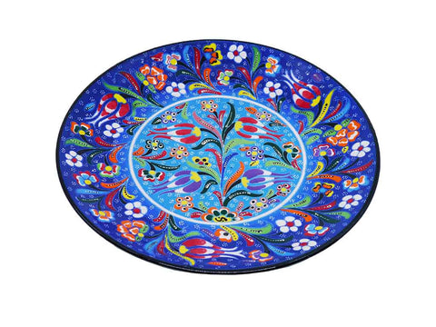 Turkish Plates Blue Colour