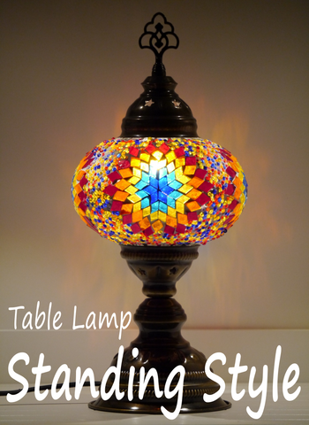 Turkish Mosaic Table Lamp