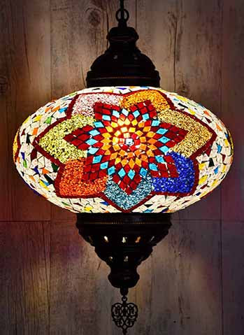 turkish mosaic pendant lights