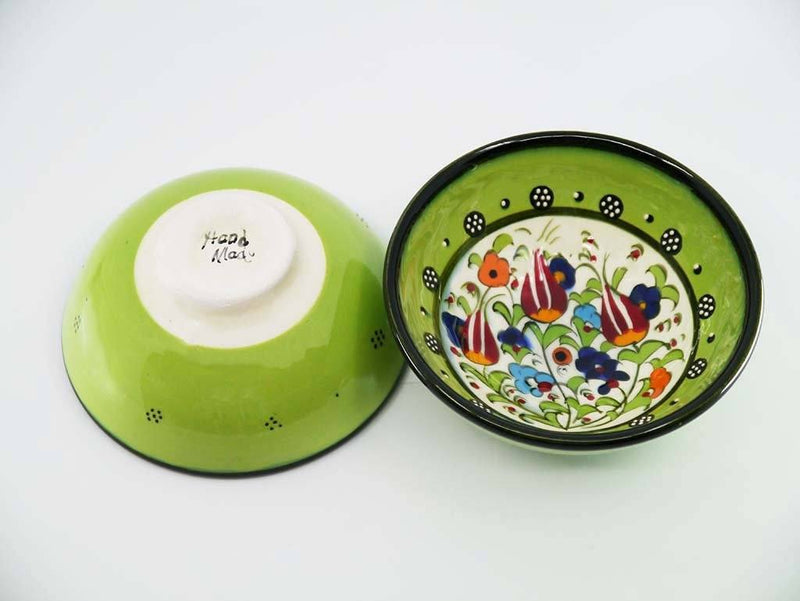 10 cm Turkish Bowls Millennium Collection Green