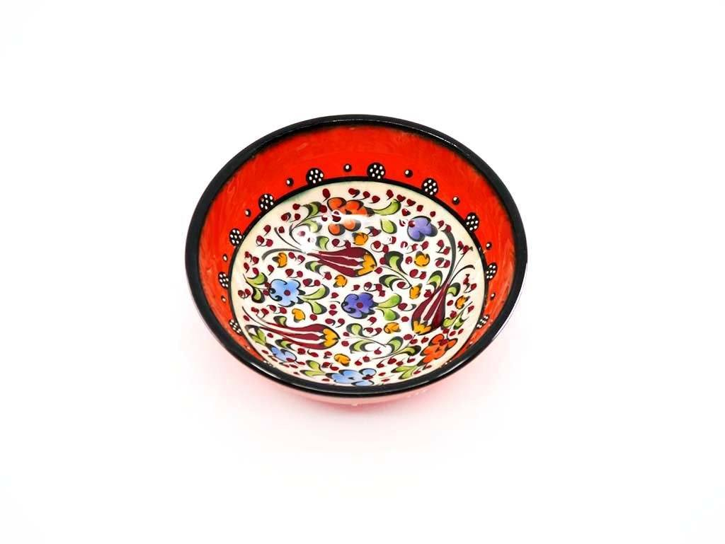 10 cm Turkish Bowls Millennium Collection Orange