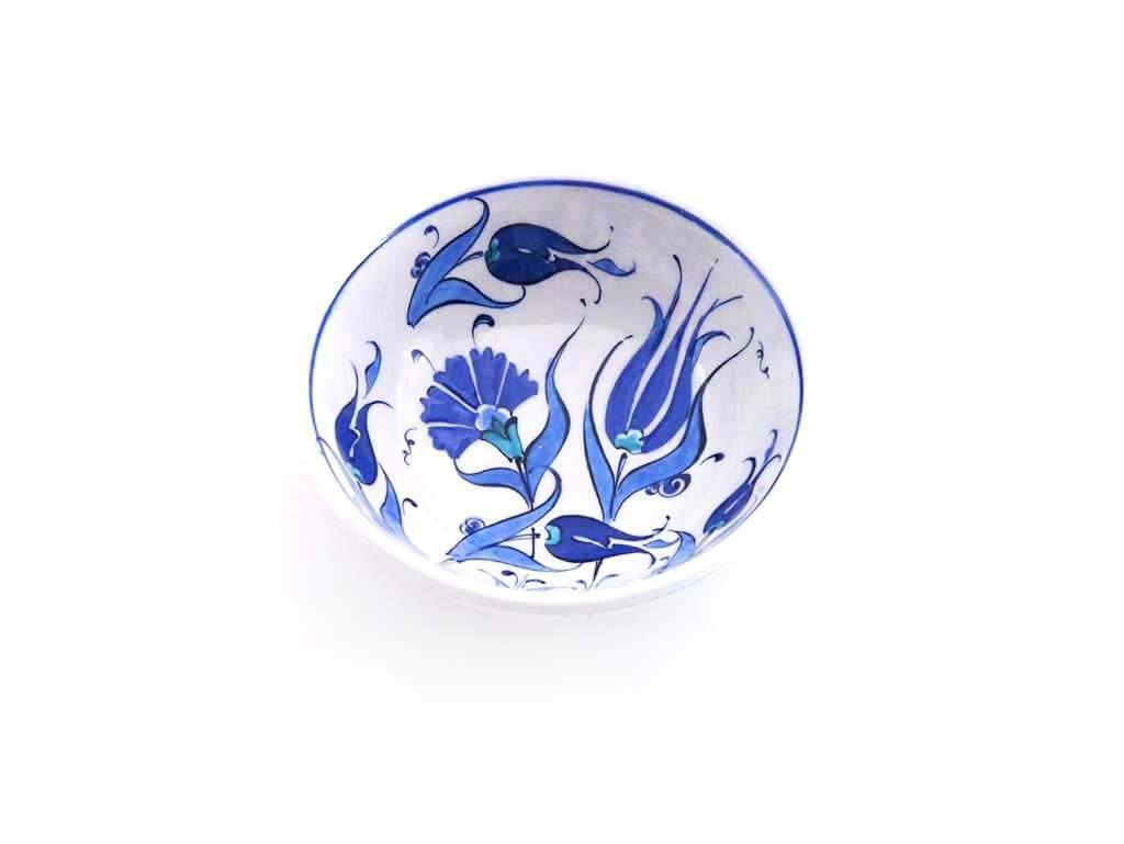Turkish iznik bowls blue