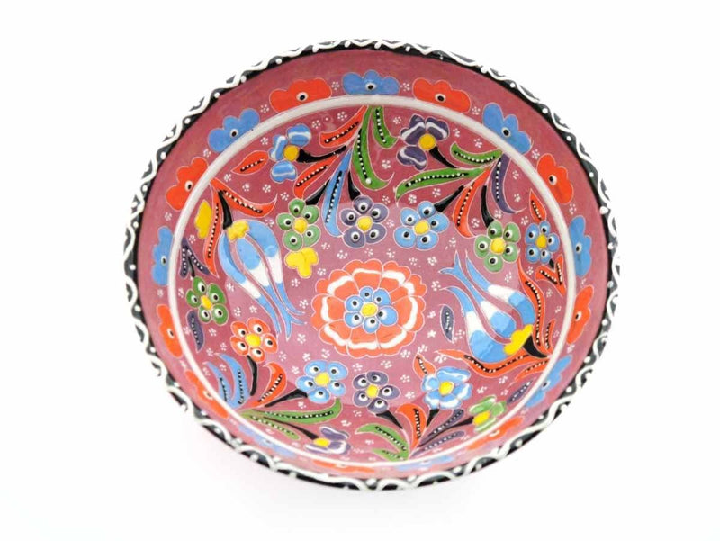 15 cm Turkish Bowls Flower Collection Pink