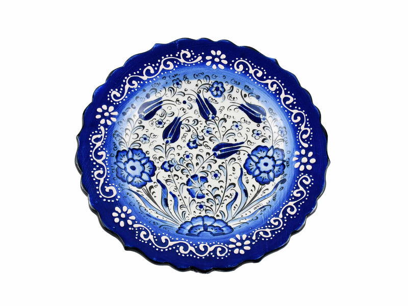 18 cm Turkish Plate New Millenium Collection Blue Ceramic Sydney Grand Bazaar 2