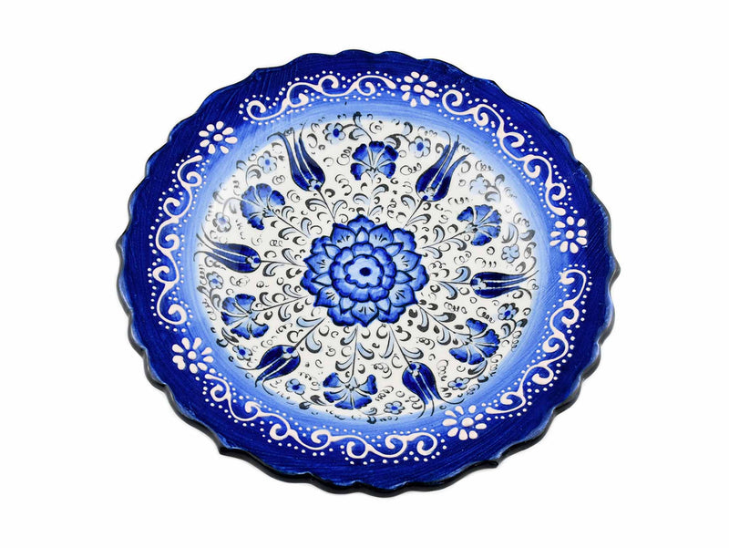 18 cm Turkish Plate New Millenium Collection Blue Ceramic Sydney Grand Bazaar 3