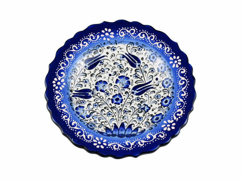 18 cm Turkish Plate New Millenium Collection Blue Ceramic Sydney Grand Bazaar 1