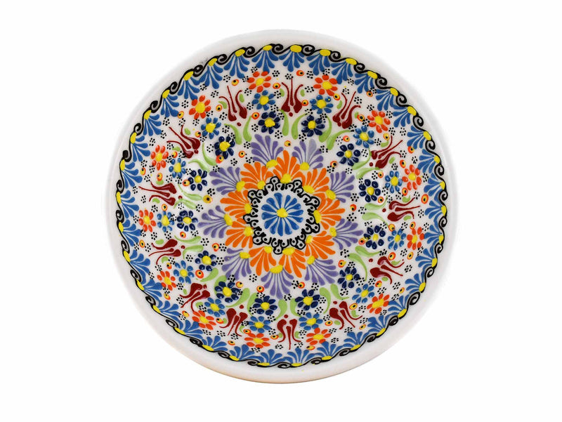 20 cm Turkish Bowls Dantel White Ceramic Sydney Grand Bazaar 1