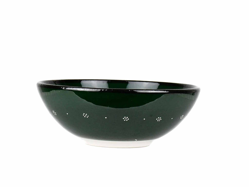 20 cm Turkish Bowls Millennium Collection Green Ceramic Sydney Grand Bazaar