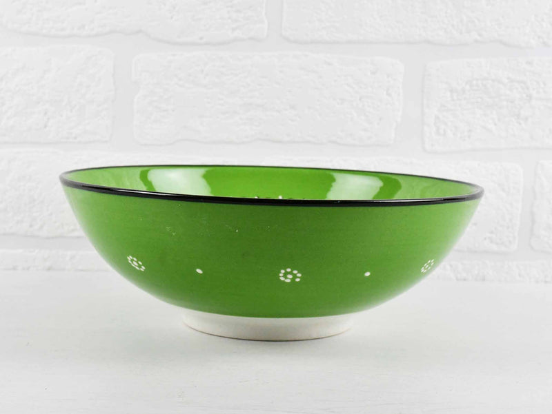 20 cm Turkish Bowls Millennium Collection Light Green Ceramic Sydney Grand Bazaar