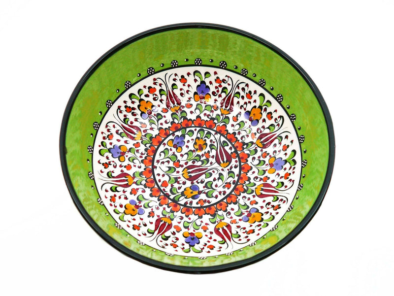 20 cm Turkish Bowls Millennium Collection Light Green