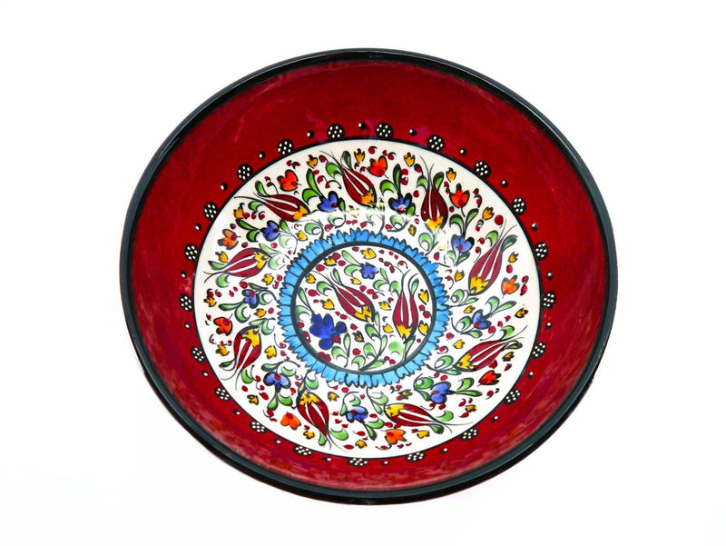 20 cm Turkish Bowls Millennium Collection Red