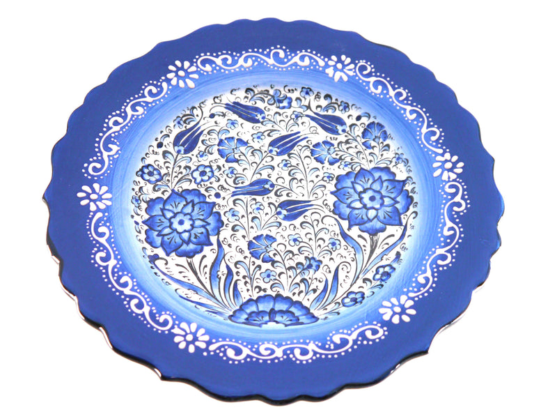 Turkish Plates Blue Colour Handmade Australia
