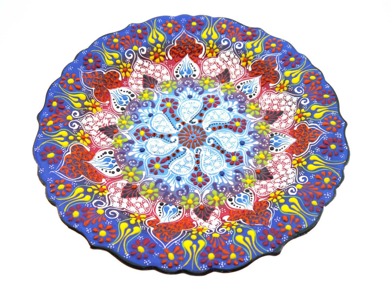 33 cm Turkish Plate Special Dantel Collection Mix