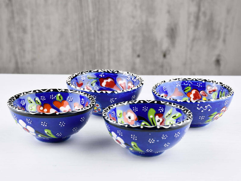 5 cm Turkish Bowl Flower Collection Set of 4 Ceramic Sydney Grand Bazaar