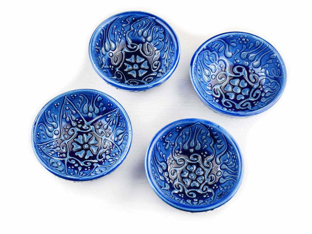 5 cm Turkish Bowls Firuze Collection Set of 4 Ceramic Sydney Grand Bazaar