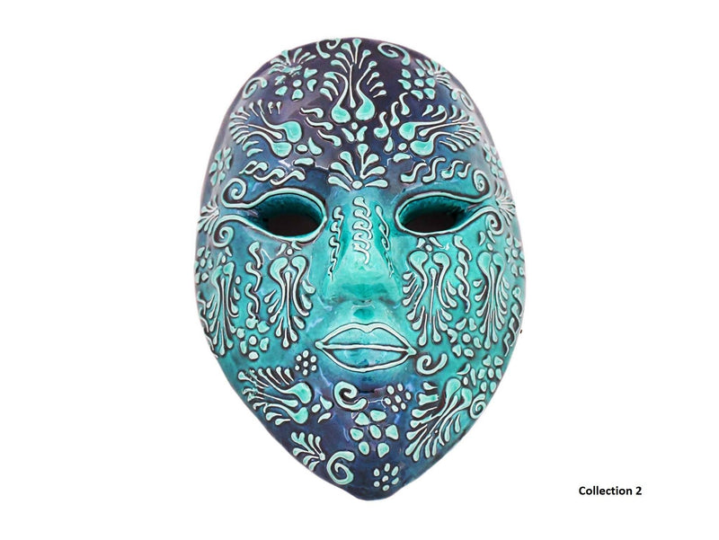 Anatolian Ceramic Wall Decorative Mask